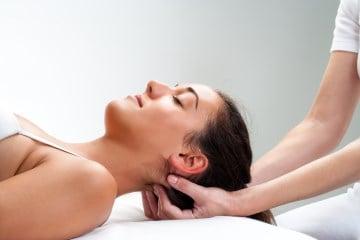 Rücken-/Nackenmassage